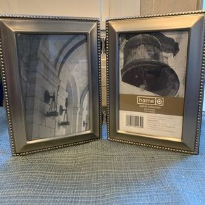 Double 4x6 photo frame, never used